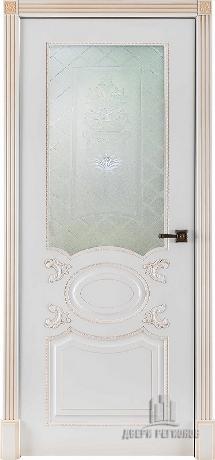 Аристократ эмаль белая стекло Ульяновские двери