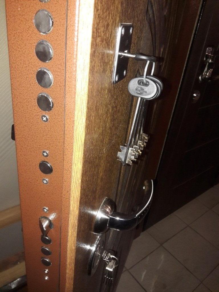 металлическая дверь химки