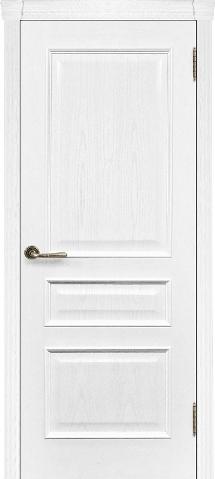 Дверь Милан ясень жемчуг глухое