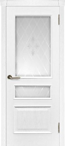 Милан ясень жемчуг остекленная ульяновские двери