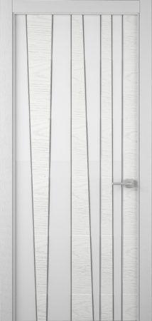 тренд белая дверь шпон