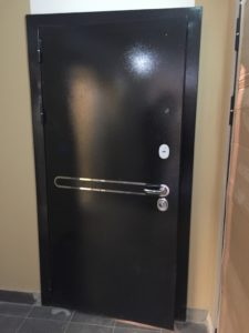Президент S1Z входная металлическая дверь Regidoors с зеркалом