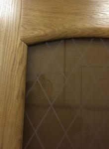 лаура шпон дуба стекло