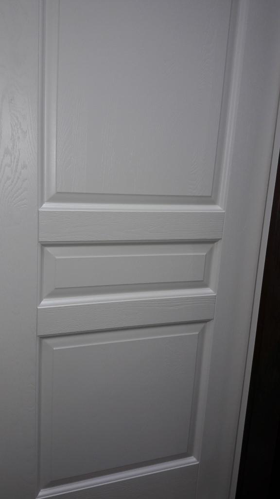 Двери из массива дуба Селена слоновая кость