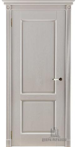Селена дверь из массива дуба слоновая кость