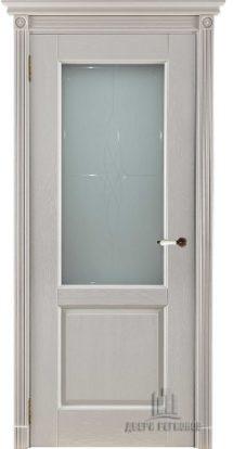 Селена двери массив беларусия слоновая кость стекло мателюкс с гравировкой