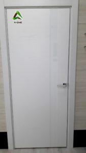 Uno Ciaro ral 9003 стекло Lacobel белое