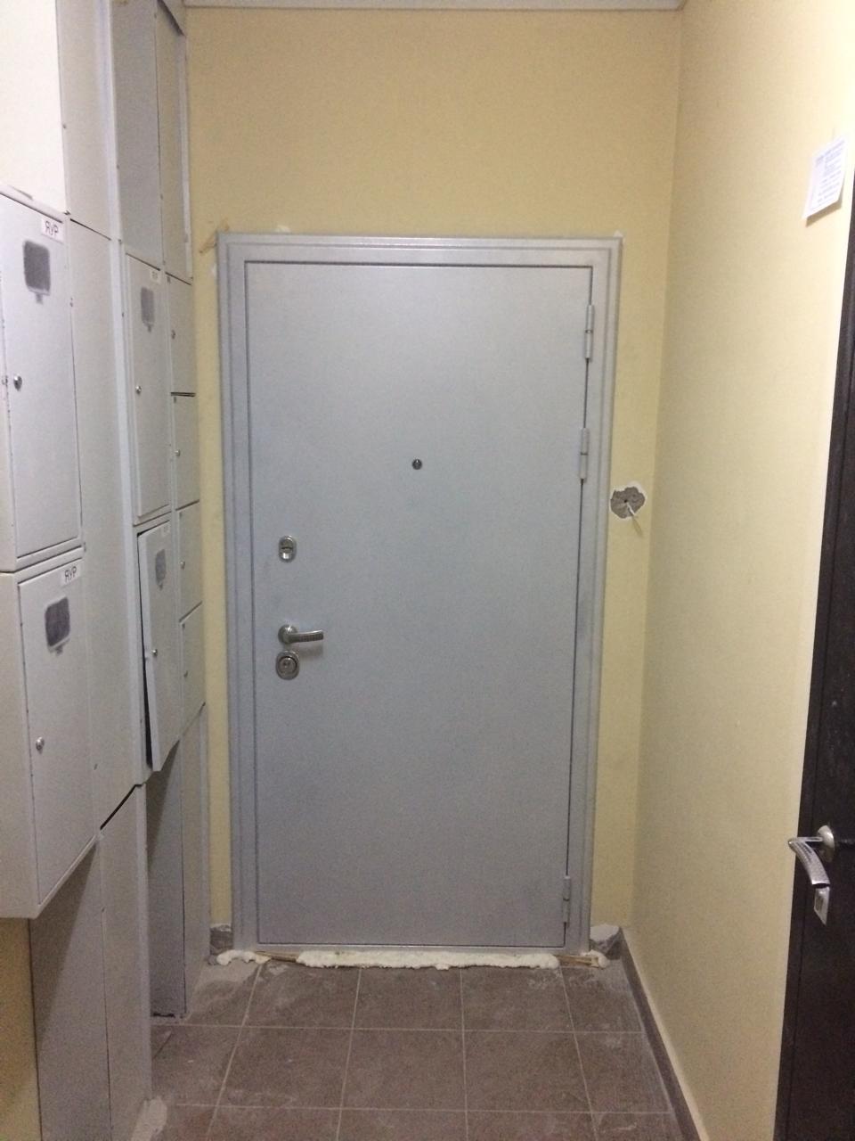 Входная дверь Колизей белый металл цвет белое серебро