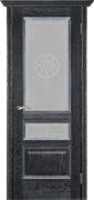 Вена черная патина стекло версачи, наличник канелюр, карниз (1)