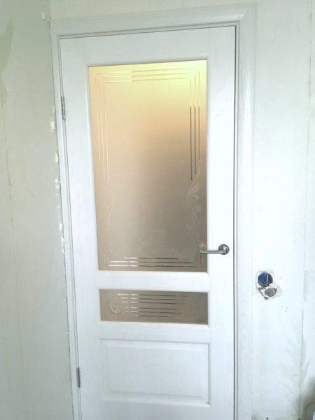 Ульяновская дверь Валентия 2 ясень жемчуг