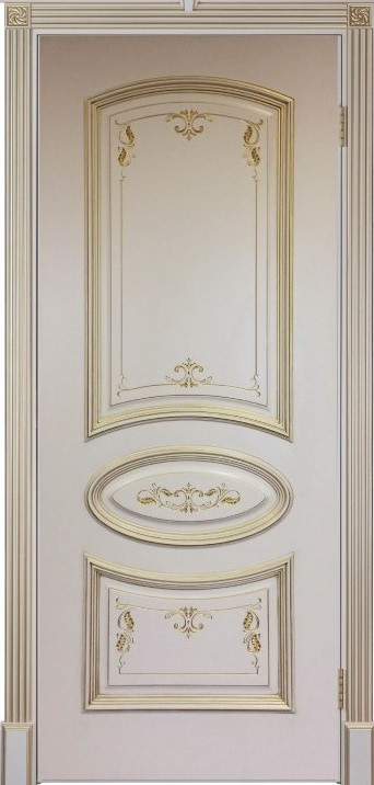 Багет 3 Ульяновская дверь фабрики Двери Регионов эмаль слоновая кость