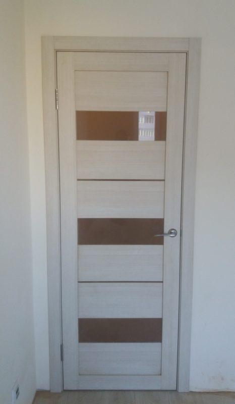 Дверь экошпон LIGHT 2126 капучино велюр