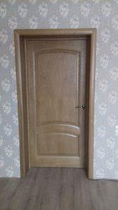 Межкомнатная Ульяновская дверь Лаура цвет дуб капри Химки Зеленоград
