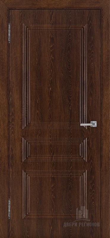 Дверь ПВХ Римини цвет коньяк глухое