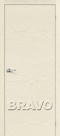 Двери Браво Вуд Флэт-0V1 ivory H