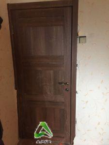 Light 2180 орех вельвет дверь экошпон глухая