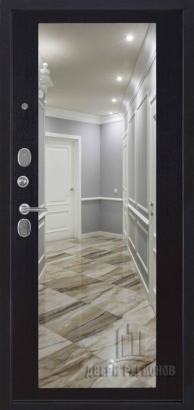 Президент S1Z входная дверь венге с зеркалом